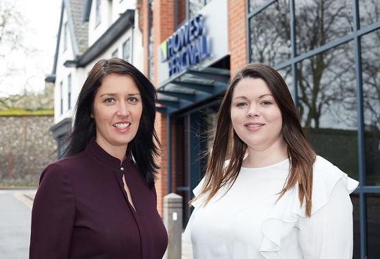 Amy Walpole & Laura Clay-Harris social