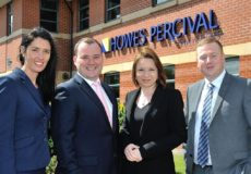 Howes Percival promotes four new partners